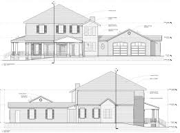 House Elevations by Sample Of Houses Elevations Plans House Plans
