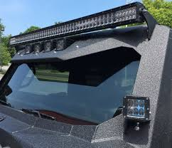 jeep jk light bar brackets jeep jk wrangler fab fours vicowl 50 led light bar brackets fast
