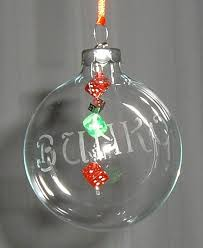 leigh s creative gifts dice glass ornaments