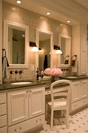 46 inch bathroom vanity bathroom traditional with bathroom mirror