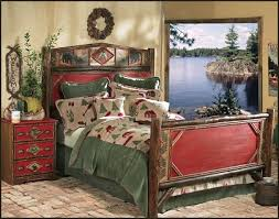 cabin themed bedroom lake theme home decor cabin furniture decorating rustic