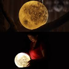 moonlight outdoor lighting 3d magical moon led night light moonlight desk lamp usb