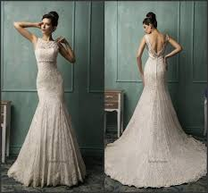 vintage ivory wedding dress 2015 amelia sposa mermaid ivory wedding dresses vestido de