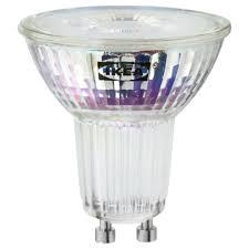 lunnom led bulb gu10 400 lumen ikea