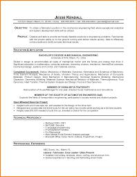 Sample Resume Of Mechanical Engineer by Download Sample Resume Of Student Haadyaooverbayresort Com