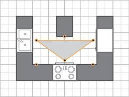 Kitchen Work Triangle by Kitchen Design Grid Gooosen Com