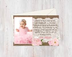 Sample Of Invitation Card For Christening Although Too Tiny Poem Card Baptism Thank You Card With