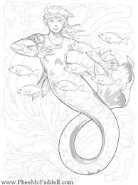 fairy mermaid coloring pages 25 best mermaid coloring pages for adults images on
