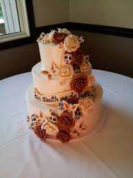skull wedding cakes wedding cakes buttercream unique san diego bakeries twiggs san