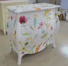 hand painted bedroom furniture hand painted bedroom chest with 3 drawers painted furniture