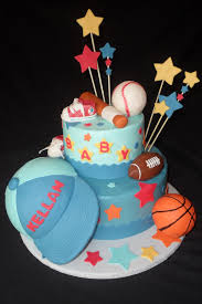 sports themed baby shower cakes sports theme baby shower cake