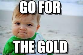 Gold Memes - go for success kid original meme on memegen