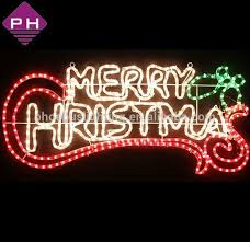 led merry christmas light sign outdoor lighted christmas signs merry christmas motif light