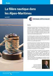 chambre de commerce alpes maritimes etude filiere nautique 04 2017 by cci côte d azur issuu