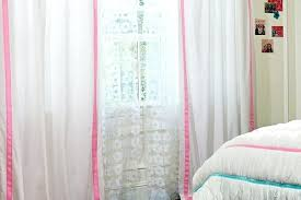 Pink Curtains For Girls Room Baby Nursery Drapes Soft Pink Curtains For A They Let In So Much