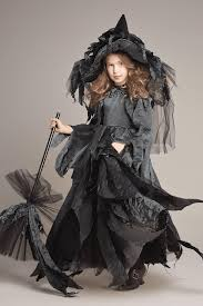 midnight witch costume for girls chasing fireflies