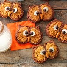 owl cookies recipe taste of home