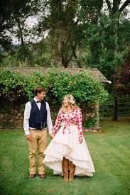 western wedding the look whimsical western wedding rivini martini dress