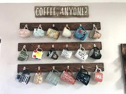 under cabinet coffee mug rack hang coffee mugs under cabinet hanging coffee mugs about mug holder