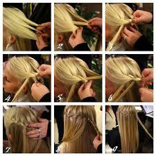 tutorial rambut waterfall just be a pretty girl hair braid variant pict vid tutorial