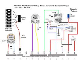 electric guitar piezo wiring diagram diagram wiring diagrams for