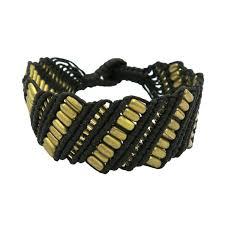 macrame bracelet with beads images Casual macrame bracelet sku 04731183 jpg