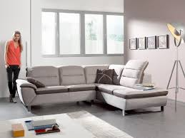 toff canapé canapé d angle relax électrique avec coffre beige en tissu meubles