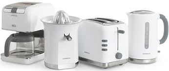 Kenwood Kettle And Toaster Kenwood Blanc Breakfast Collection