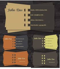 46 free photoshop psd business card templates feedtip