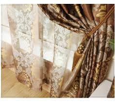 Curtains Printed Designs Cheap Curtain Silk Fabric Buy Quality Curtain Size Directly From