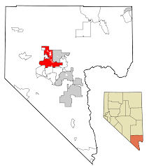 Map Of Las Vegas Nv File Clark County Nevada Incorporated Areas Las Vegas Highlighted