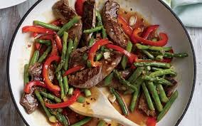 cooking light diet recipes steak and asparagus stir fry from the cooking light diet cooking