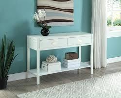 Turquoise Console Table Peggy Console Table Linon 862261wht01u