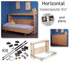 Twin Wall Bed Murphy Bed Build Your Own Plans And Hardware