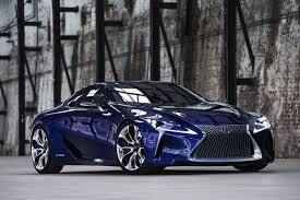 what company makes lexus awesome lexus lf lc concept to become