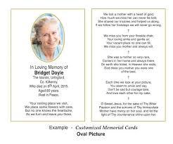 memorial card custom memorial cards allen press