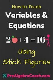 free pre algebra worksheets math lessons pinterest algebra