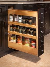slide out spice racks for kitchen cabinets voluptuo us