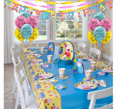 peppa pig party peppa pig party ideas party city party city