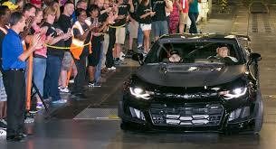 camaro 1le black 2018 chevy camaro zl1 1le delivered to rick hendrick