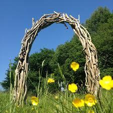 wedding arches uk driftwood wedding arch wooden garden arch