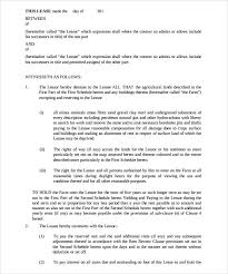 land lease agreement template sle land lease agreement template 10 free documents in pdf