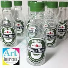 Basta Garrafinha de Heineken Chá Bar no Elo7 | Art Impressa  &PP78