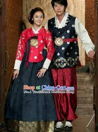 Traditional Wedding Dresses Korean Hanbok Traditional Korea Clothing Wedding Dress Birthday