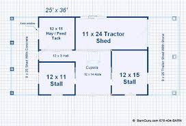 2 stall horse barn plan with loft barn builder in north ga
