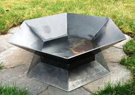 Metal Firepits Stainless Steel Metal Pit Fireplaces Firepits