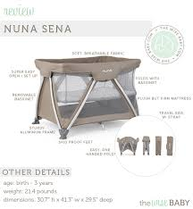 Playpen With Changing Table And Bassinet Nuna Sena Review U2022 The Wise Baby