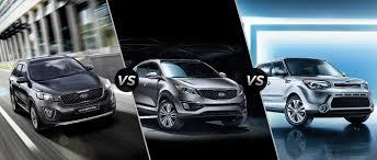Kia Cargo 2016 Kia Sorento Vs 2016 Kia Sportage Vs 2016 Kia Soul