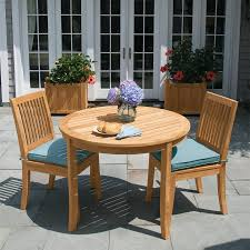 Nantucket Bistro Table Teak Dining Tables Seneca 40 In Round Bistro Table Country