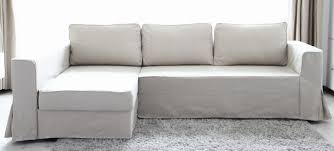 furniture small scale sectionals manstad sofa bed grey l